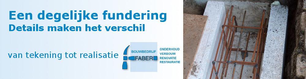 Bouwbedrijf Faber Beton Fundering